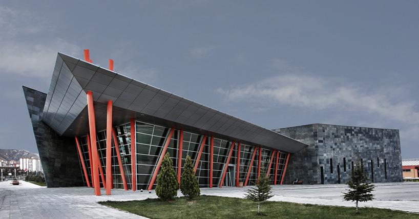 kayseri west city bus terminal by bahadir kul architects