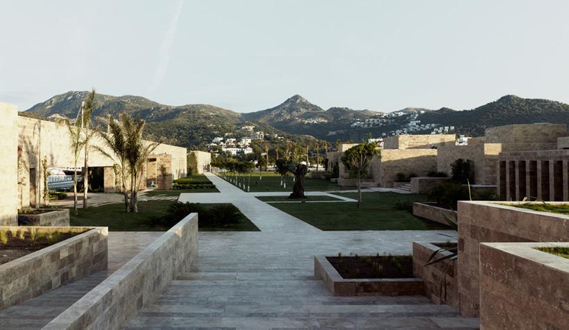 emre arolat architects expands turkish harbor with
