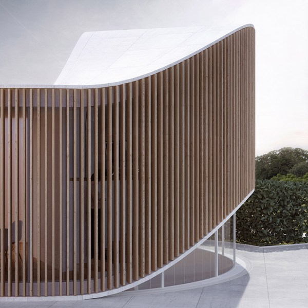 Penda Crafts Curved Timber Garden House Wood Artist In