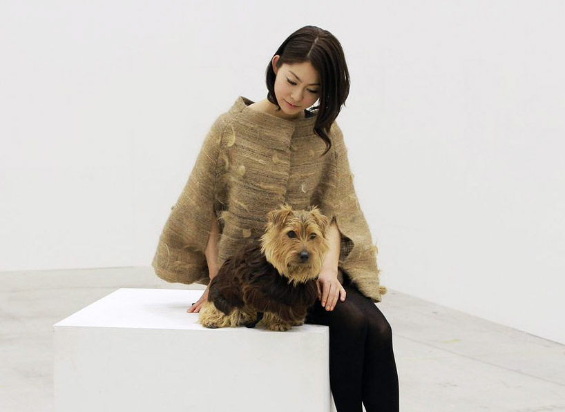 Aki Inomata Swaps Human Hair With Her Dog To Exchange Fur