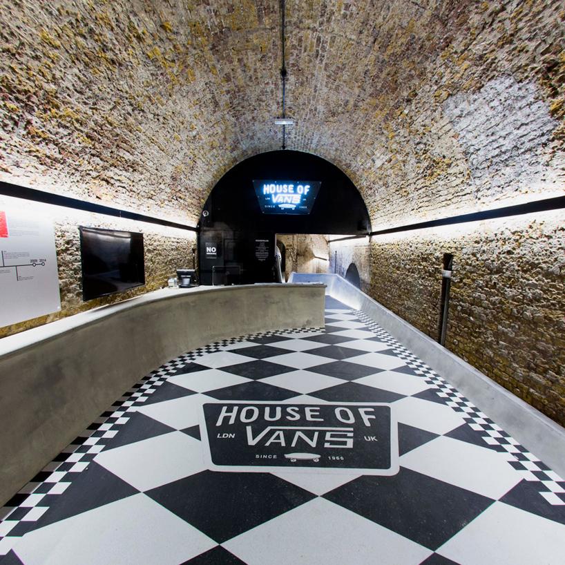 house of vans skatepark opens beneath londons waterloo station