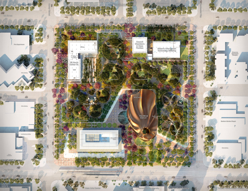 west 8 colwell shelor  weddle gilmore plan for mesa city center