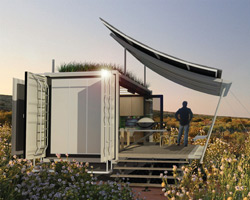 G-pod designs dwell container house for transportable living