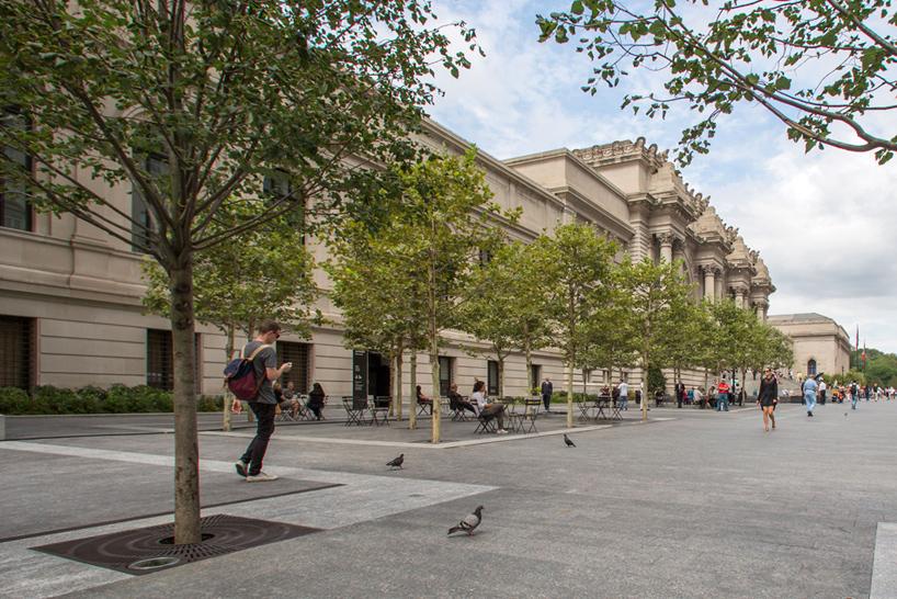 Metropolitan Museums David H Koch Plaza By OLIN Opens In