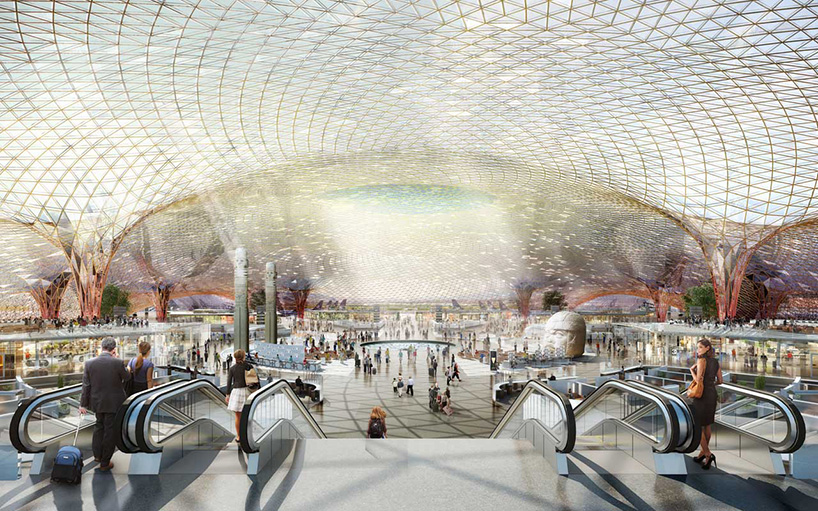 FREE  foster  partners to design a new airport for mexico city