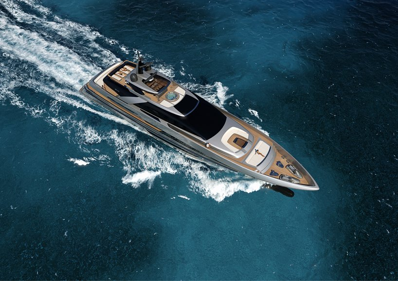 New Riva Steel Superyacht Range Embarks With A Customizable 50m Vessel