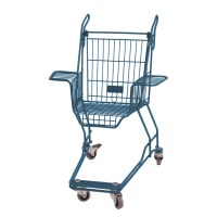 xavier degueldre recycles discarded shopping carts into chairs