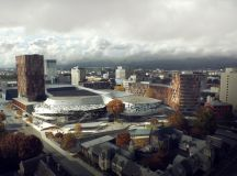 woods bagot plans christchurch convention centre in new ...