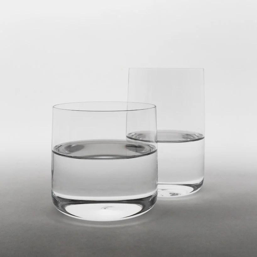 jasper morrison defines andos glass with slight side