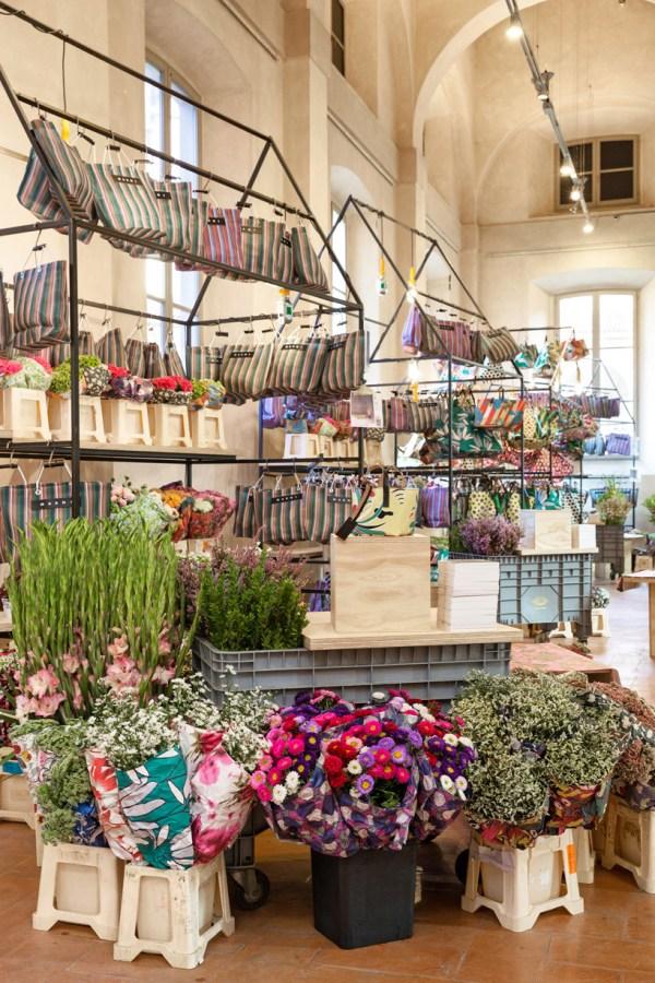 Marni Plants Flower Market Rotonda Della Besana In Milan