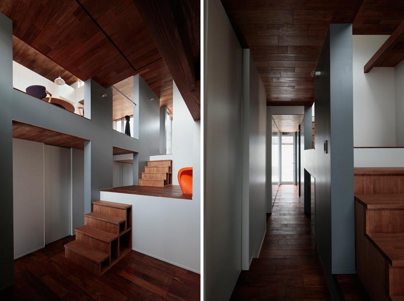 Suburban House By Masao Yahagi Contains Nine Different