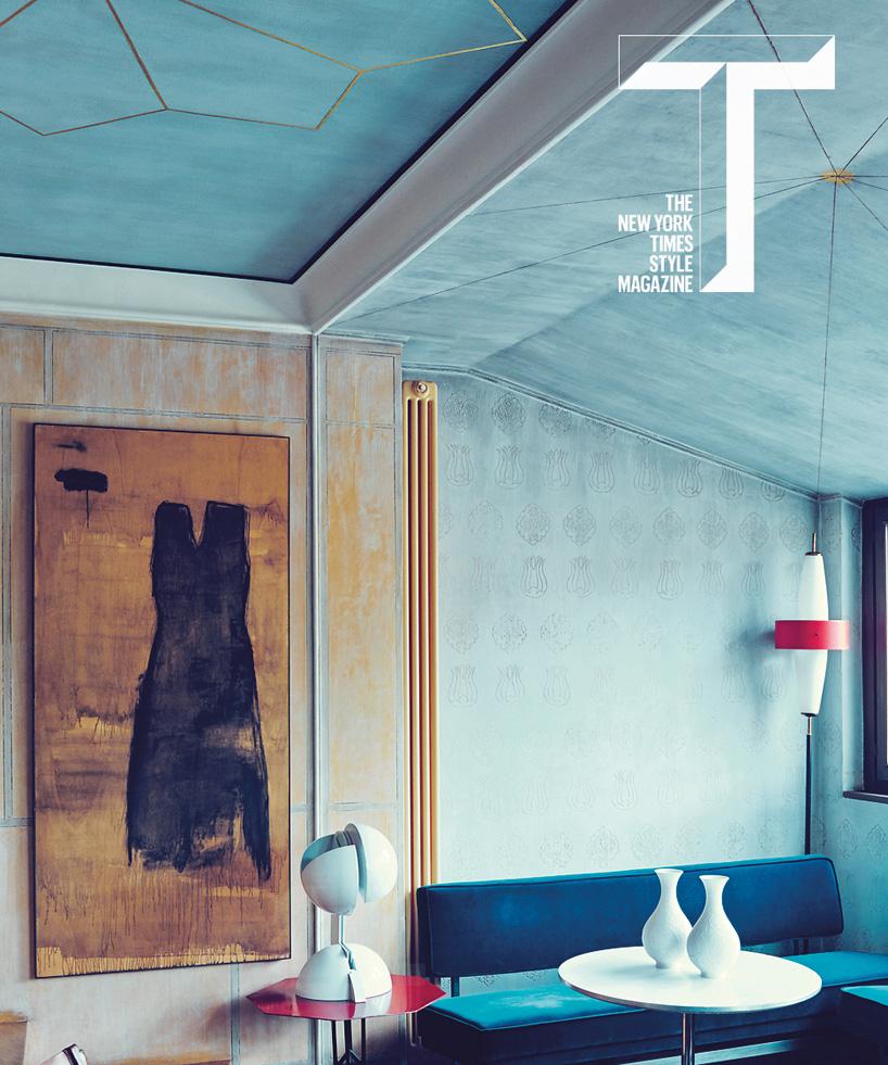 NYT style magazine profiles home of nilafur gallerys nina
