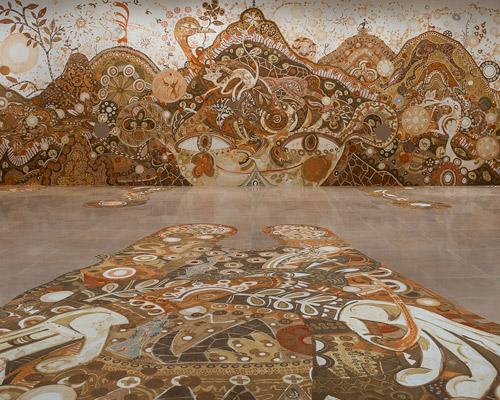 Classroom Wallpaper Hd Yusuke Asai Embellishes Rice Gallery With Yamatane Earth