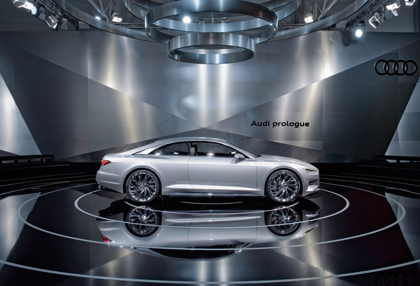 wheelchair up stairs hire chair covers bristol audi presents prologue concept car at design miami/ 2014