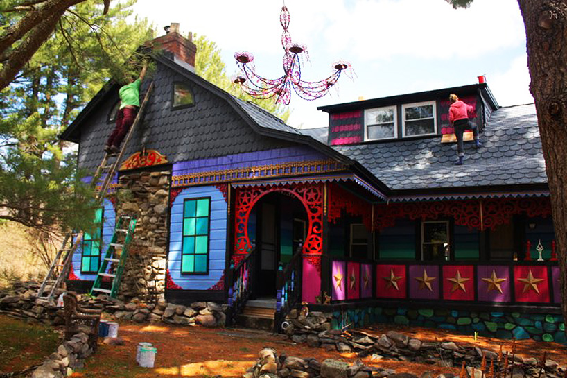 kat o'sullivan psychedelic home in new york home