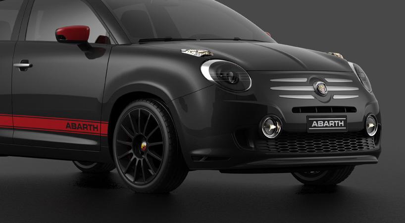 Fiat 600 60th Anniversary Concept A Tribute To Dante Giacosa