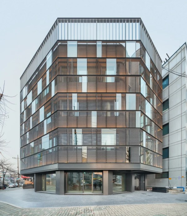 Dia Architecture Remodels Dogok Office With Transparent Steel Faade