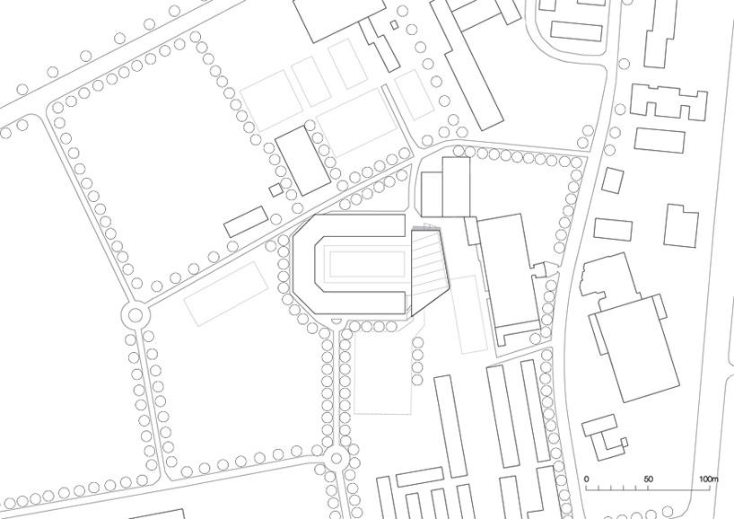 dressage stadium extension by kadawittfeldarchitektur in