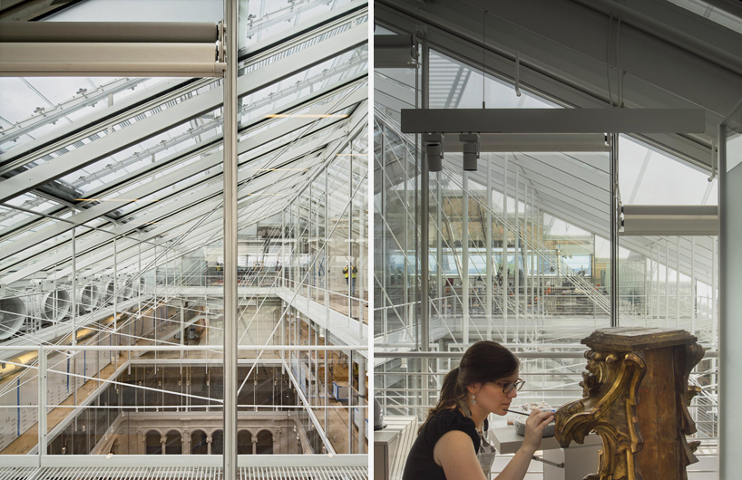 Renzo Piano Unites Harvard Art Museums With Glazed Rooftop