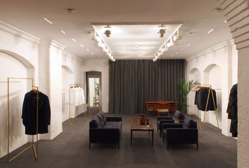 Sanderson Studios Completes E Tautz's Flagship Store In Mayfair
