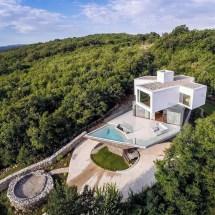 Turato Architecture Stacks Angular Gumno House Croatian