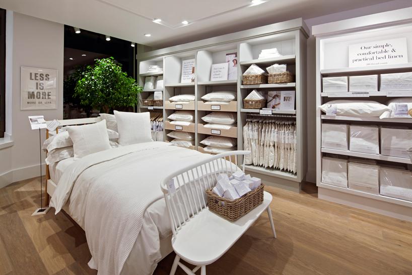 reggiani enhances the white companys in store lighting experience