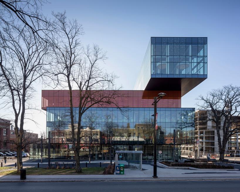 new halifax central library by schmidt hammer lassen opens