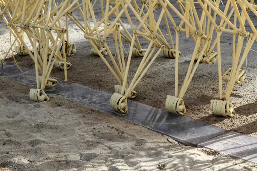 where to buy beach chairs what is the best recliner chair theo jansen's strandbeest interpreted by 3d printing at art basel miami