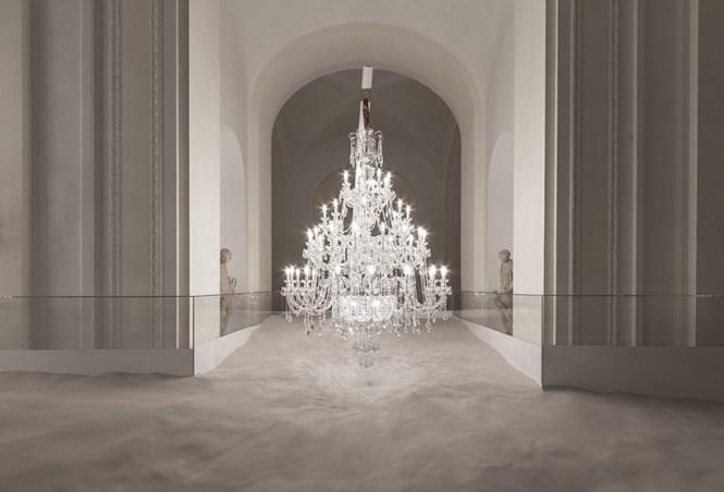 Vasku Klug Preciosa Chandeliers Behind Locked Doors Sand Hofburg Palace Vienna
