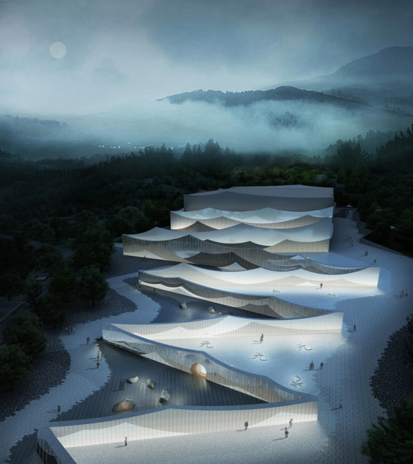 Wutai Mountain Theater In Shanxi Offers Interactive