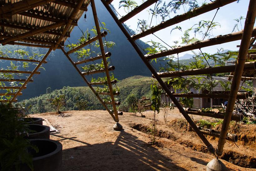 H&P architects toigetation toilet block vietnam designboom