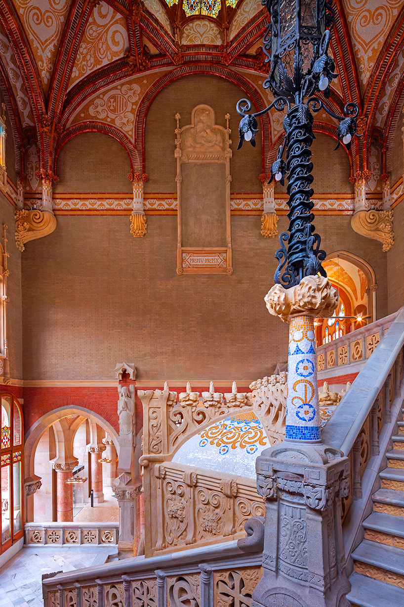 sant pau renovation brings art nouveau to life in barcelona