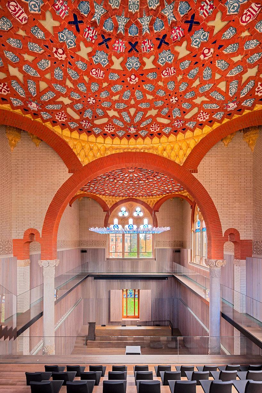 sant pau renovation brings art nouveau to life in barcelona