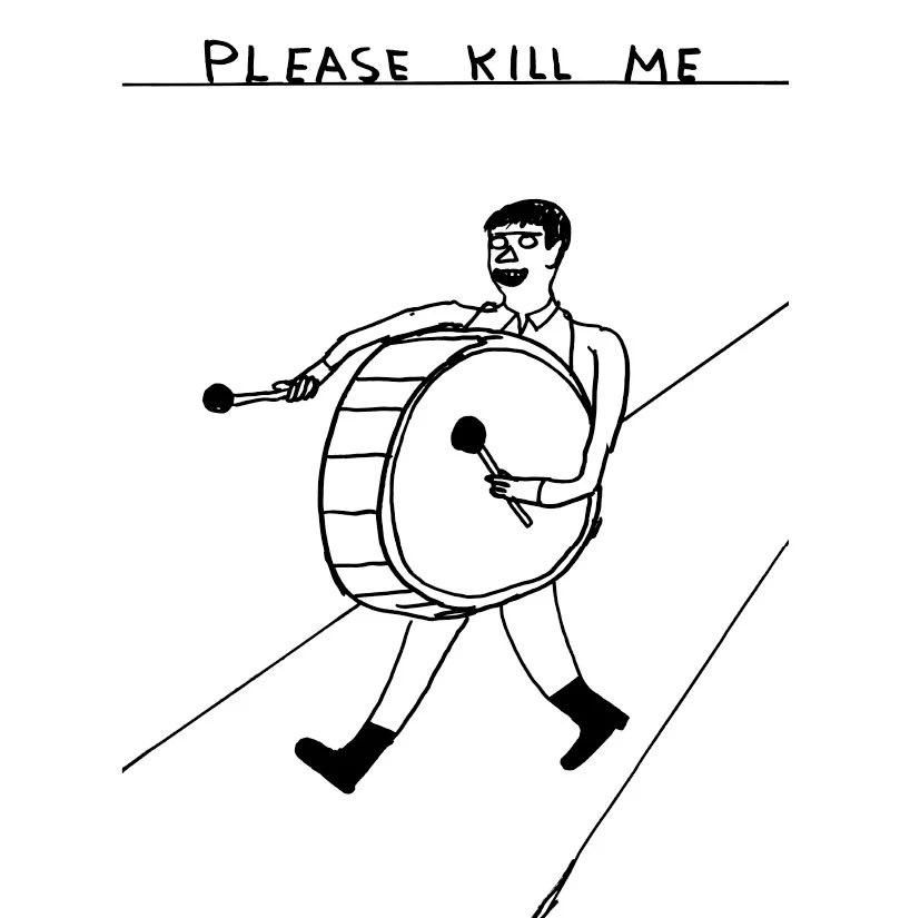 interview with artist david shrigley