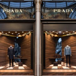 Corner Lounge Chair Covers To Buy Canada Martino Gamper Alters Perspectives With Corners Window Design Concept For Prada