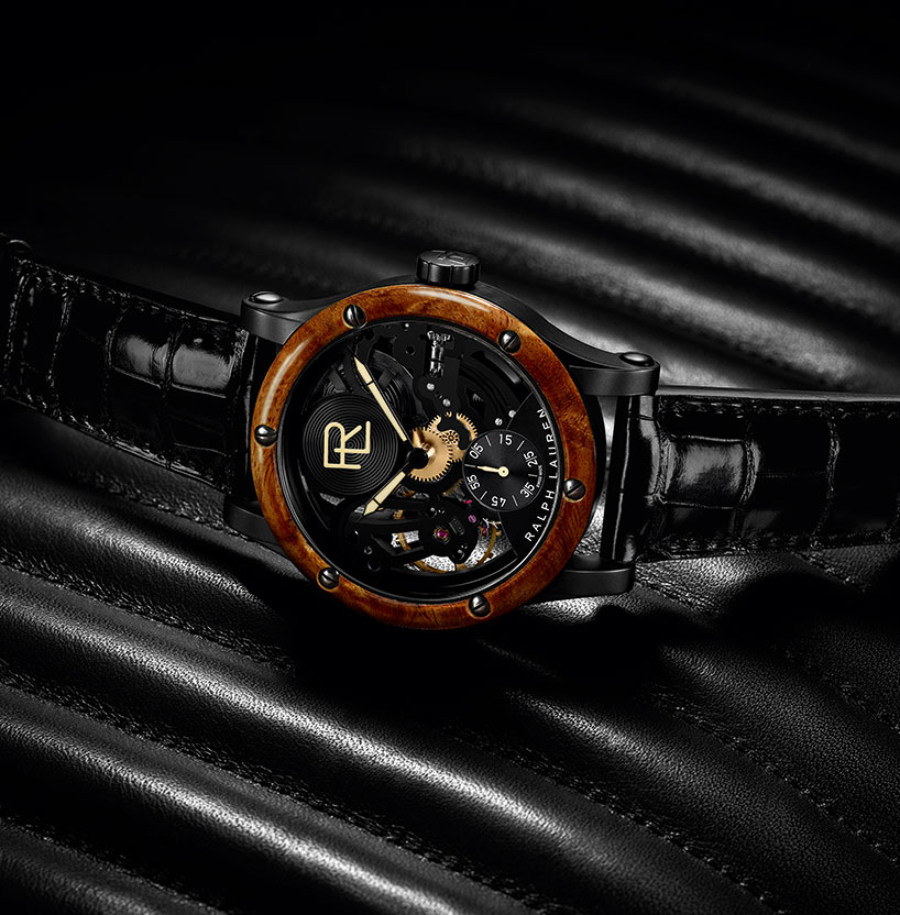 Ralph Lauren Designs Watch Based On 1938 Bugatti Type 57sc