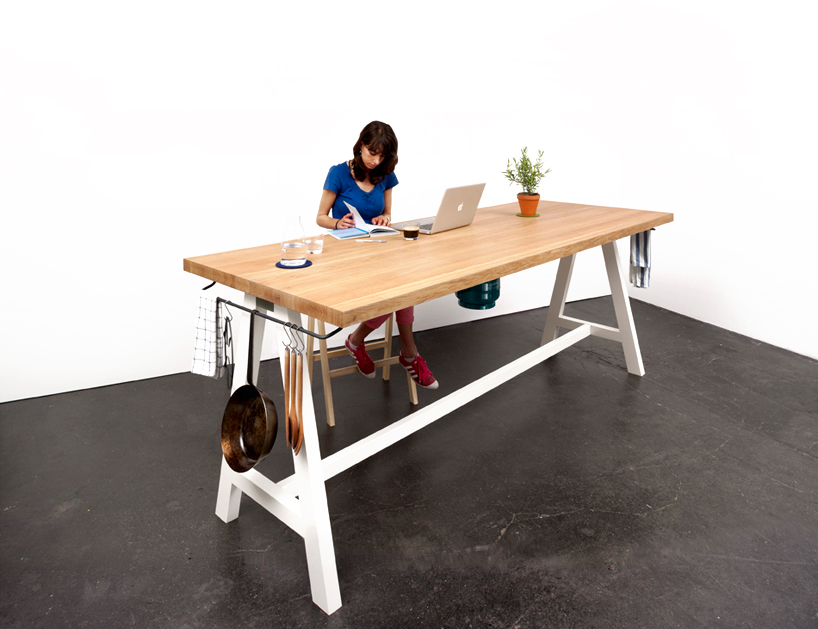 Mortiz Putziers Cooking Table Rethinks The Traditional