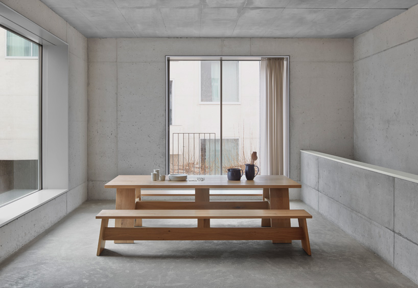 david chipperfield crafts solid wooden furniture for e15