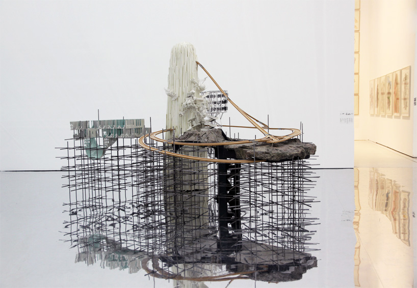 lee bul exhibits mirrored mazes at muse dart moderne in
