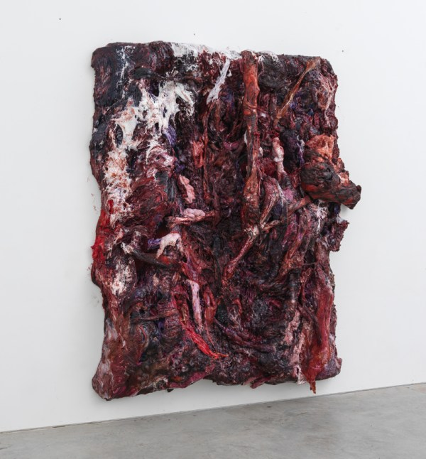 Anish Kapoor Paints Fleshy Resin Silicone Series