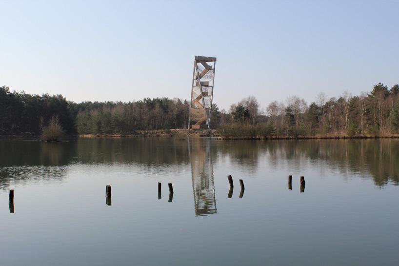 Observation Tower By Ateliereen Architecten Overlooks Pine