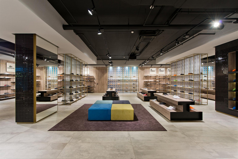 plazma envisions shoe store in lithuania as contemporary
