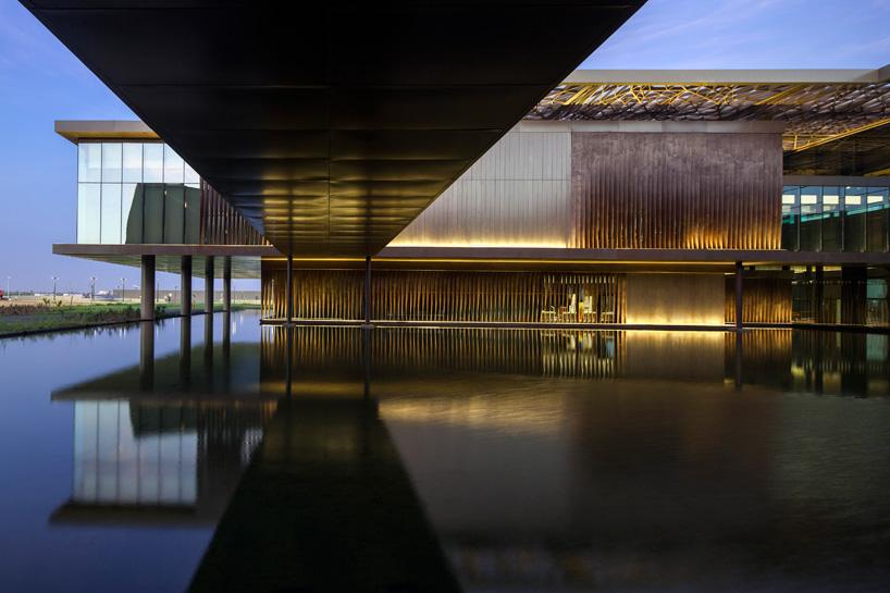 dakar international conference center by tabanlioglu architects