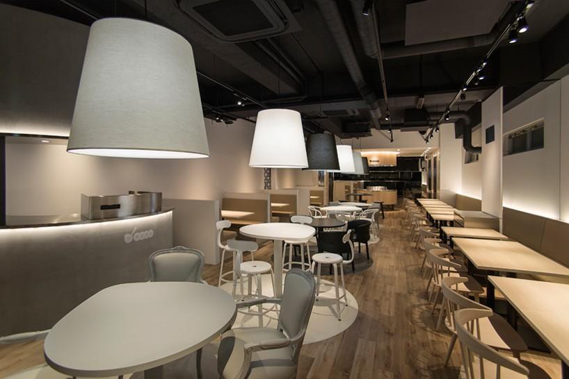 nendo overhauls tumamigui sushi restaurant in tokyo with