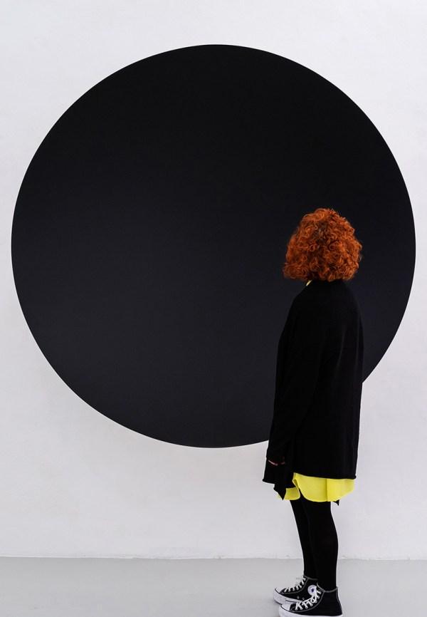 Anish Kapoor' Endless Black Whirpool Galleria Continua