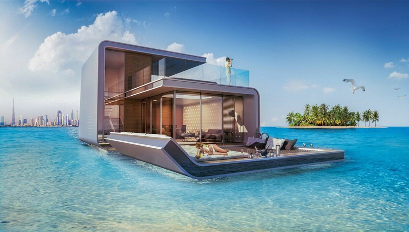 floating seahorse contemporary boat submerges rooms into marine life
