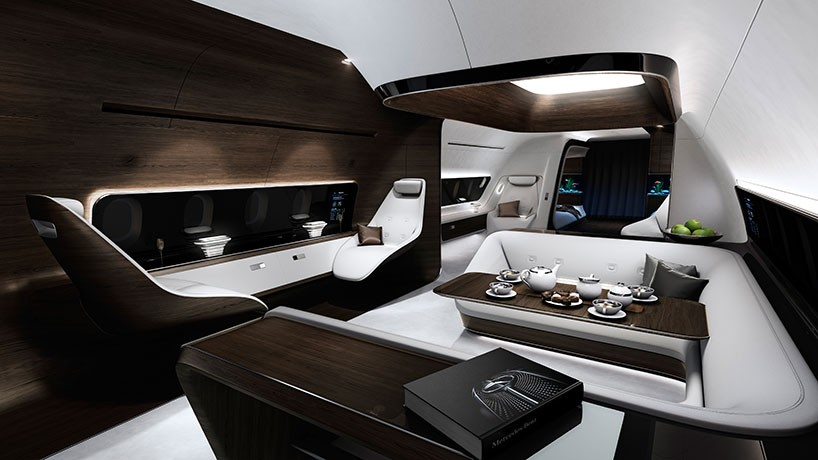 Mercedes Benz And Lufthansa Collaborate On Refining The VIP Aircraft Cabin