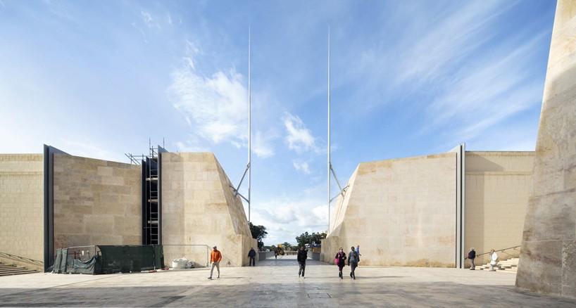 renzo pianos valletta city gate masterplan nears completion