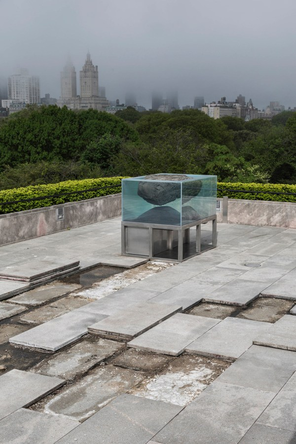 Met Museum Rooftop Hosts Animal Mineral Landscape Pierre Huyghe