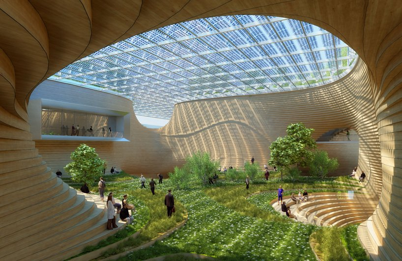 Vincent Callebaut Envisions Wooden Orchids Complex For China